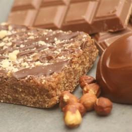 Chocolate and Hazelnut Flapjack